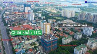 Athena Complex Pháp Vân - Chung cư có không gian sống【ĐÁNG MƠ ƯỚC】