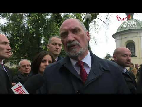 Macierewicz dowody na wybuch z rejestratorów do końca roku