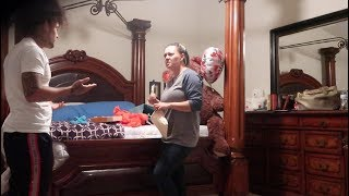 PREGNANCY PRANK ON MY MOM (SHE FREAKS OUT)