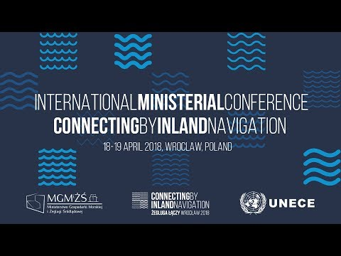 International ministerial conference connecting by inland navigation
