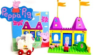 Peppa Pig Castle Building Blocks Construcciones Peppa Pig Castillo Princesas Princess Peppa Pig Toy