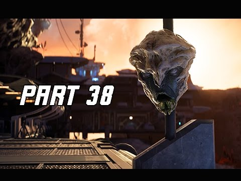 Mass Effect Andromeda Walkthrough Part 38 - KADARA PORT (PC Ultra Let's Play Commentary)