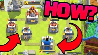 The SECRET Trick to: Clash Royale One Hitpoint EVERYWHERE