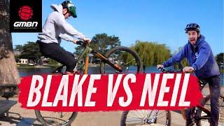Blake Vs Neil Game Of Bike | GMBN Presenter Showdown