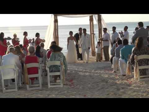 Wedding in the Cayman Island