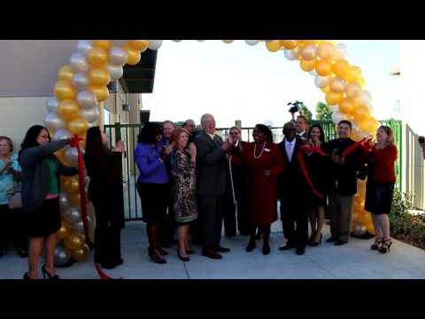 Bridges Learning Center ribbon-cutting, Oct. 21, 2015