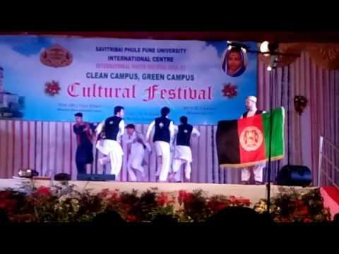 Afghan National Attan in Pune university