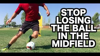Easy Skill Moves For Midfielders | Best Soccer Moves For Midfielders | Soccer Skills For Midfielders