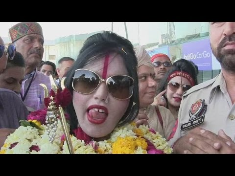 Oops Moments of Radhe Maa While Talks With Reporters at Amritsar