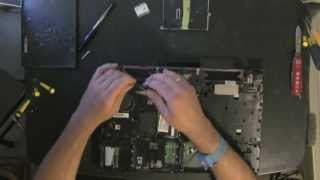 HP ProBook 4510S laptop take apart, disassemble, how to open, video disassembly