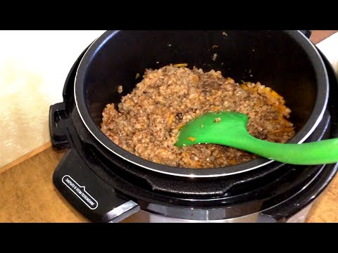 Как приготовить вкусно гречку с тушенкой в мультиварке