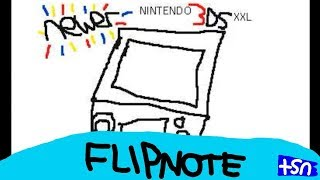 """Newer Nintendo 3DS XXL"" Animation | Flipnote Studio 3D | TSN Animation"