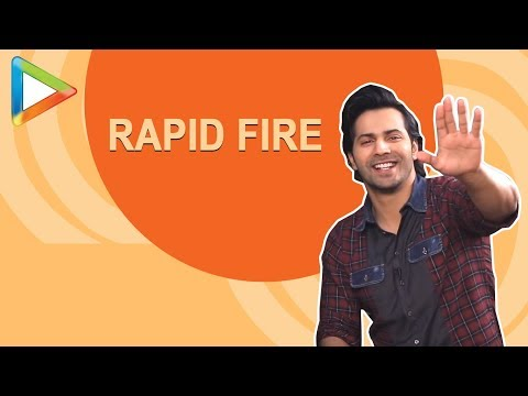 Varun Dhawan's MOST EPIC RAPID FIRE | Salman | SRK | Alia | Anushka | The Rock | Sui Dhaaga