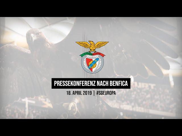 Pressekonferenz nach Eintracht - Benfica