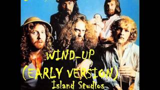 Jethro Tull - Wind-Up (Early Version)