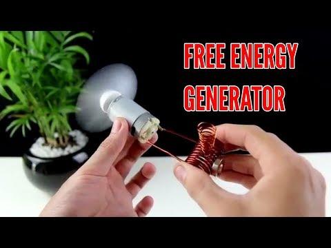 Make Free Energy Generator at Home full guide