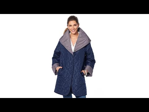 MarlaWynne Reversible Quilted Puffer Coat. http://bit.ly/327kbRO