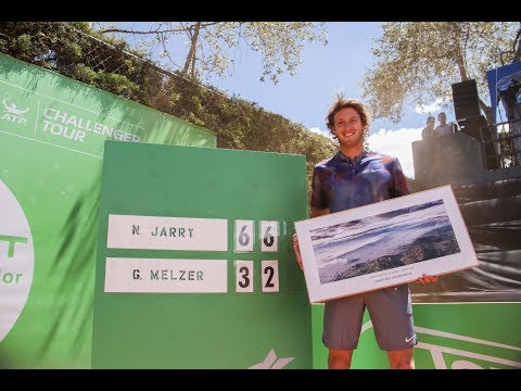 Nicolás Jarry vs Gerald Melzer - 2017 Quito Challenger F (HIGHLIGHTS)