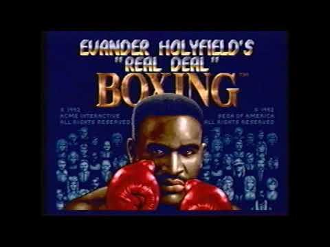 The Beast Compilation EVER! Evander Holyfield's Real Deal Boxing Sega Genesis