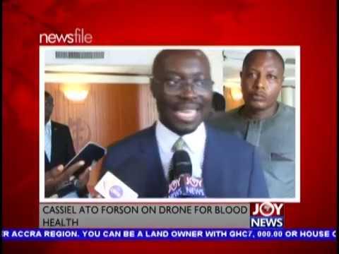 Medical Drones Saga - Newsfile on JoyNews (8-12-18)