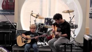 "Kevin Lewis - Matty B ""Want U Back"" Guitar Cover - WIMA Recital 2012"