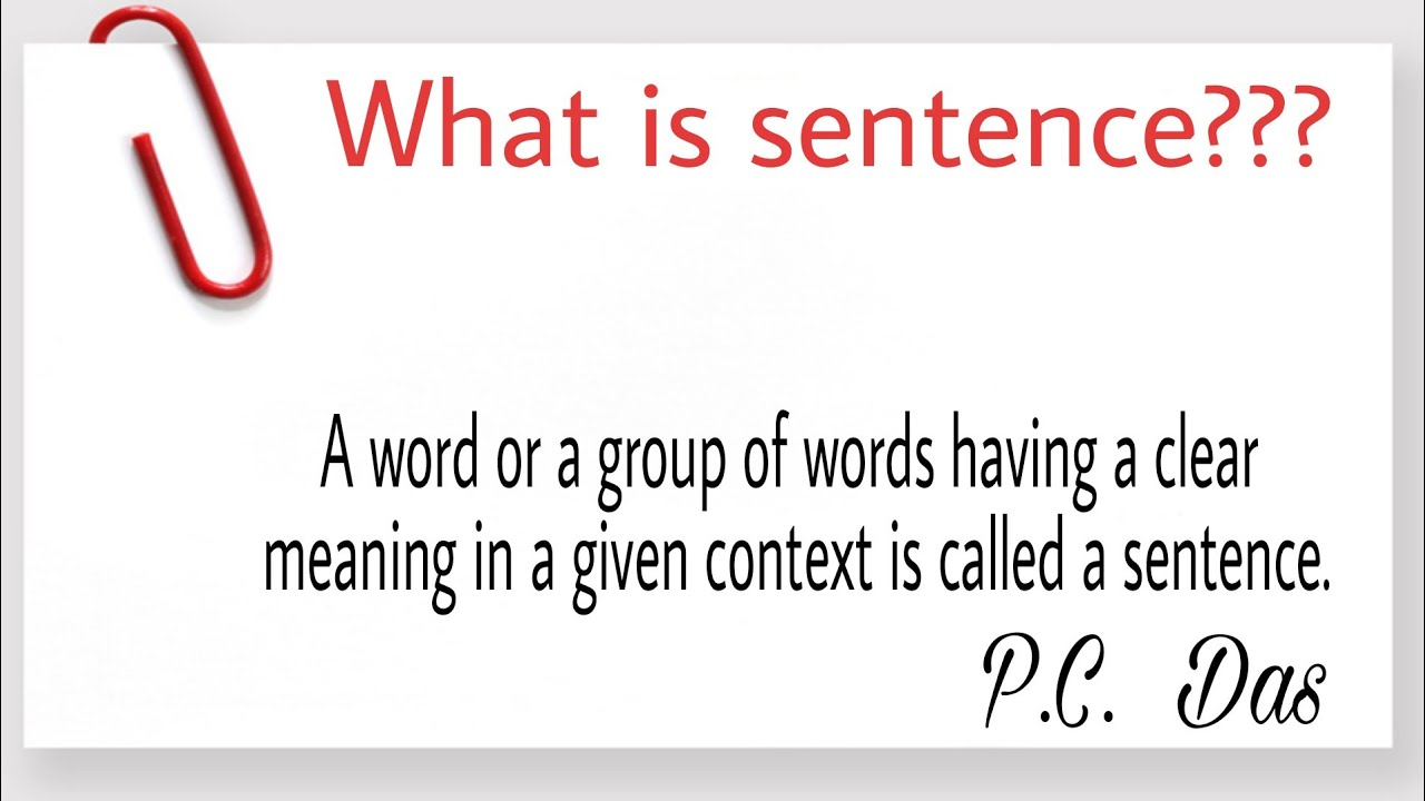 lesson 3 what is sentence in english grammar explained by rohingya