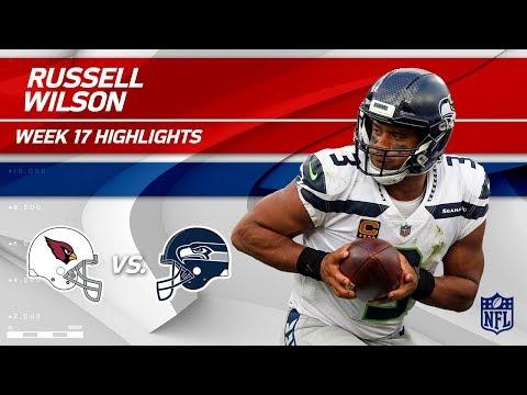 Russell Wilson Highlights   Cardinals vs. Seahawks   Wk 17 Player Highlights