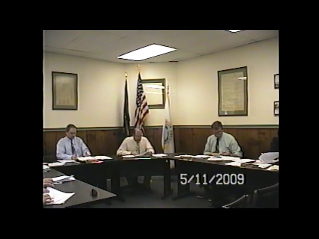 Champlain Village Board Meeting  5-11-09