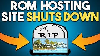 ROM Hosting Site SHUTS DOWN and NEW PC FREE GAME!