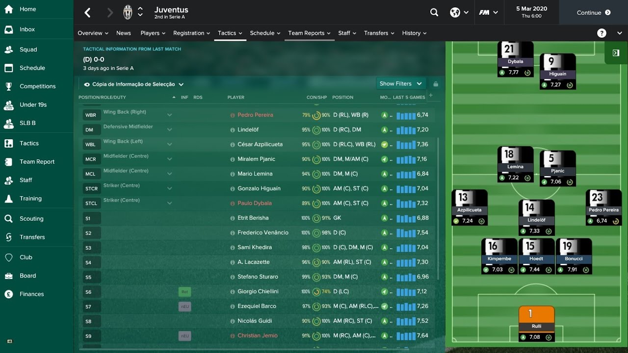 Juventus In 2020 Football Manager 2017 Youtube