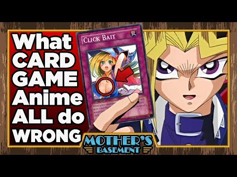 The Problem With Card Game Anime Mothers Basement Yugioh