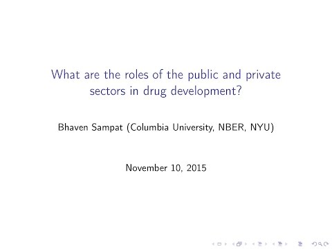 4th Seminar on Drug Pricing: Bhaven Sampat