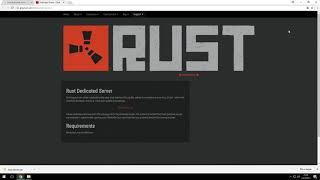 [Deutsch] Rust Dedicated Server Windows + Oxide installieren - Ausführlich mit Erklärung