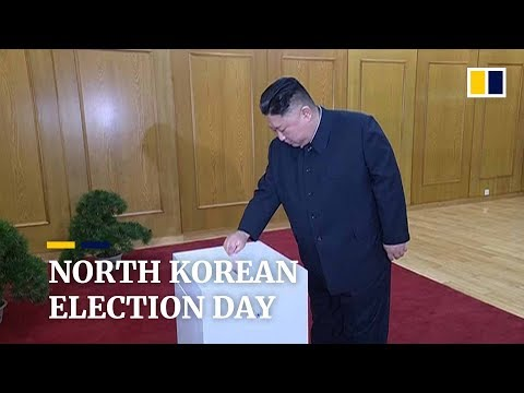 Everyone votes, but there is no choice in North Korean elections