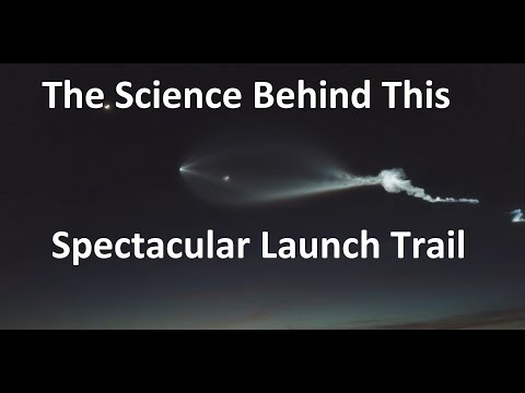 Explaining The Amazing Rocket Trail Over LA