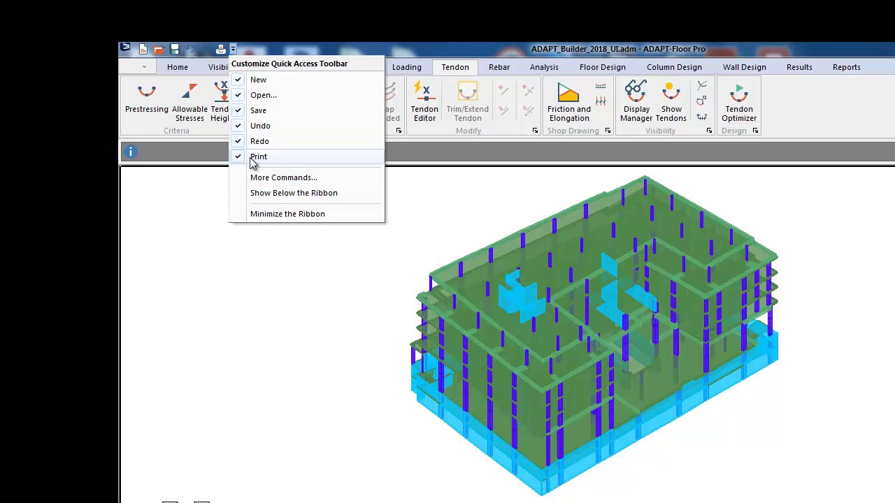 Structural Analysis Software for Reinforced & Post-Tensioned