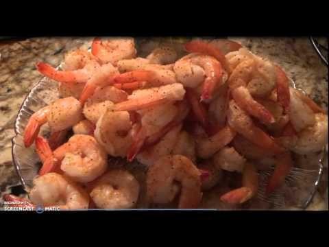 Shrimp and Old Bay Seasoning