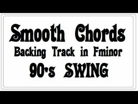Liquid Smooth Chords Backing Track Playback in F minor - 90's Swing