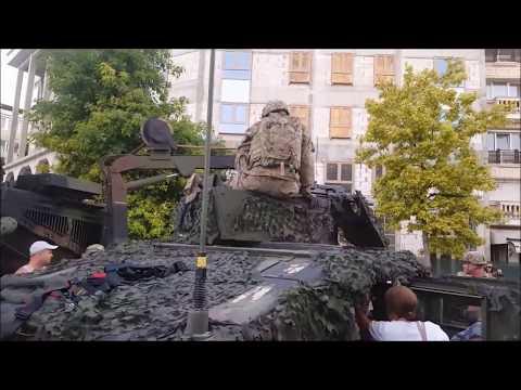 USA at the Triumphal Gate - Skopje