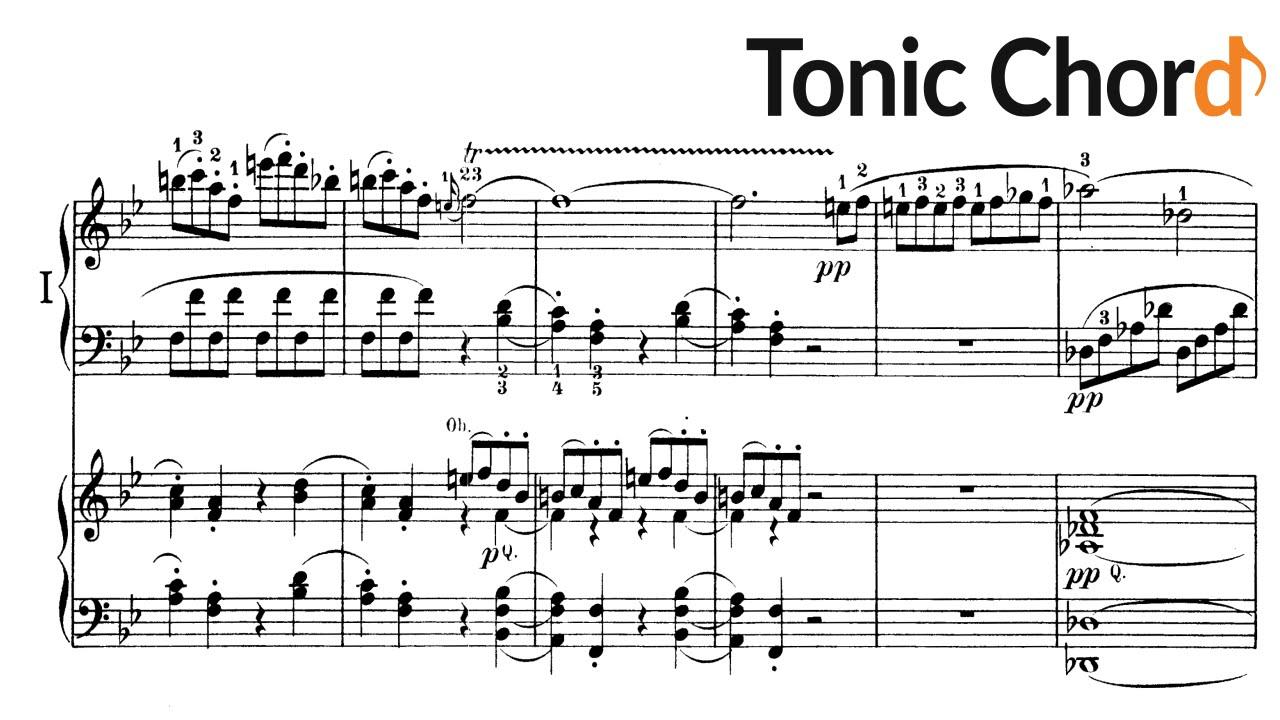 Beethoven piano concerto no2 in b flat major op19 beethoven piano concerto no2 in b flat major op19 accompaniment tonic chord hexwebz Gallery
