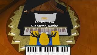 UdSSR Hymne auf ROBLOX Piano