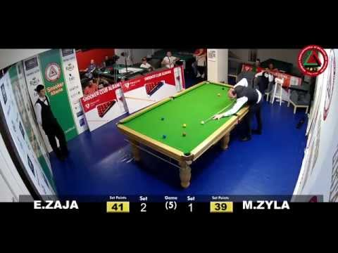 KUPA KASTRIOTI - Snooker Albania Gjysem finale      Edmond ZAJA Vs Marjus ZYLA.