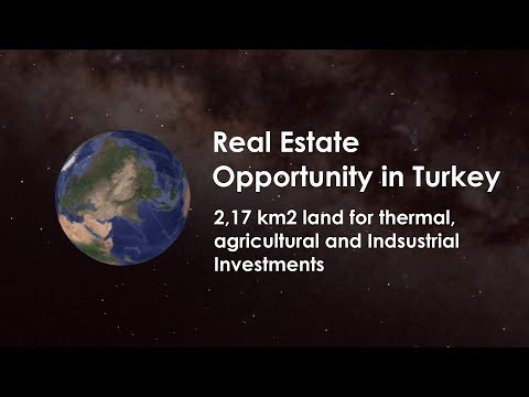 Great Real Estate Opportunity in Turkey - Land for Thermal tourism, Agro and Industrial Investment.