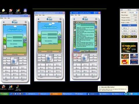 HD chơi game mobile trên máy tính như avatar,..bằng SunJava
