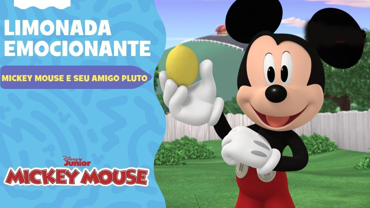 Mickey Mouse e Seu Amigo Pluto | Limonada emocionante