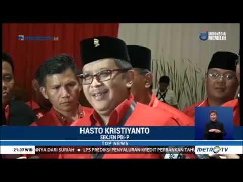 Ketua MPR Disoraki Kader PDIP, Hasto Minta Maaf Mp3