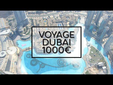 10 JOURS A DUBAI POUR 1000€ - ASTUCES VOYAGE PAS CHER (TOUT INCLUS)