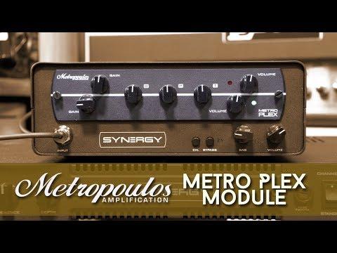 Synergy Metropoulus Metro Plex 2-channel Preamp Module
