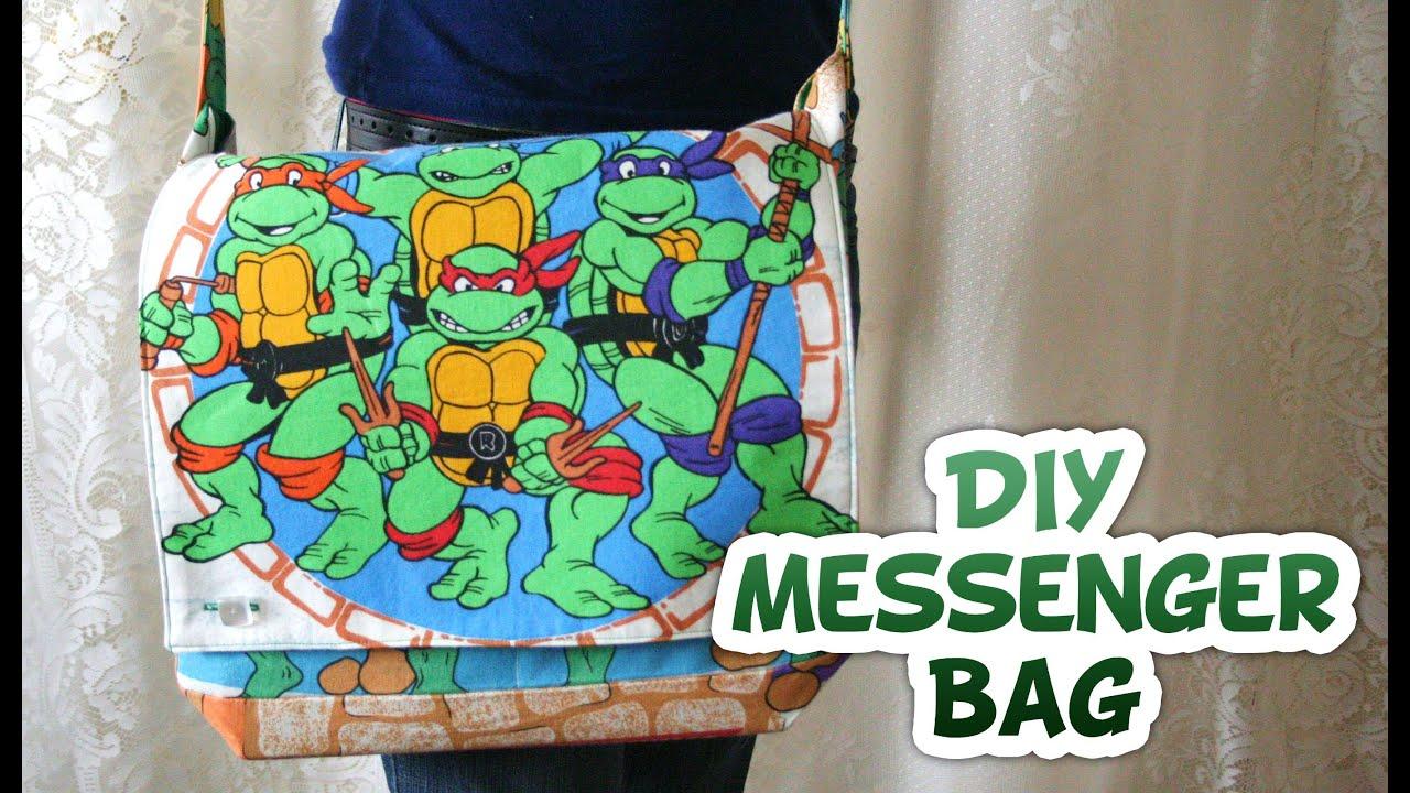 Messenger Bag How to | Geek Week | Back to School - Whitney Sews ... : quilted messenger bag pattern - Adamdwight.com