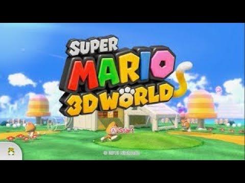Super Mario 3D World Walkthrough: World 5-B: Fire Bros  Hideout #2.